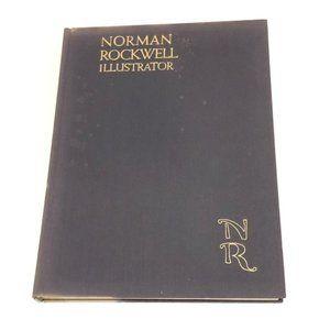 Vintage Norman Rockwell Illustrator Book